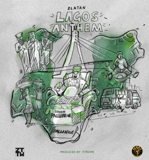 "Zlatan – ""Lagos Anthem"" (Prod. by P.Prime)"